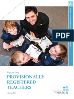 PRT Teacher full registration guide