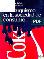 El Anarquismo en La Sociedad de Consumo - Murray Bookchin