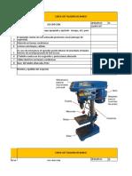 4.- Check List Máquina de Taladro de Banco
