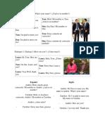 Dialogos en Ingles