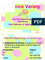 Sentence Variety2 -English Speaking Course Lucknow (CDI) – www.cdilucknow.blogspot.com