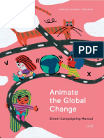Animate the Global Change Manual Online