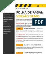 Folha de Pagamento 3.0 Demo