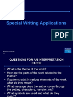 Special Writing Applications - English Speaking Course Lucknow (CDI) – www.cdilucknow.blogspot.com