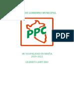 Plan de Gobierno PPC Breña