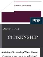 Week 9-10 Citizenship and Suffrage
