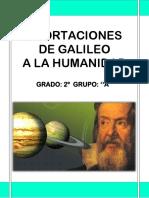 Aportaciones de Galileo