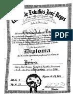 Diploma de Cherimi