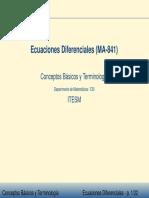 Ecuaciones Diferenciales (2)