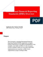 International Financial Reporting Standards (IFRS) Overview