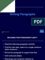 Writing Paragraphs - Spoken Englsih Course Lucknow / www.cdilucknow.blogspot.com