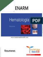 HEMATOLOGIA Resumen 2018