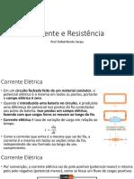 Física III – Corrente e Resistência