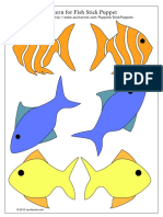 Fish Stick Puppets Clr