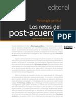 Psicología Jurídica_Los Retos Del Post-Acuerdo