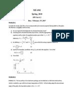 ME6302 Homework 2
