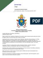 Discurso Do Papa Francisco Na Conclusão Do Sínodo Da Família