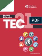 Folleto Modelo Tec21 (2018)