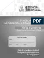 Tecnologías de La Inf. y Com. ( Tic ) 3ro. 18-2