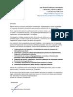 Carta de Presentacion Jose Manuel Rodriguez