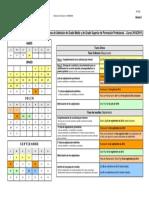 18500-Calendario y Gestión Del Proceso de Admisión de Grado Medio y de Grado Superior de Formación Profesional