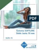 Sistema Softline70 VEKA