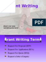 Grant Writing (Formatted)