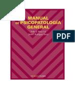 Manual de psicopatologia general - Pedro Mesa; Juan Rodriguez.docx