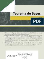 Teorema de Bayes1