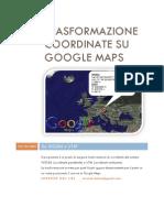 Trasformazione Coordinate Su Google Maps