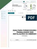 Docdownloader.com Guia Para Fornecedores Trabalhando Nas Instalaoes Da Embraer