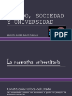 Normativa Universitaria I