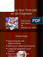 Resume Cover Letters Interviews for Engineers