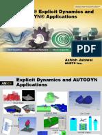 ANSYS Explicit Dynamics - Ashish Jaiswal.pdf