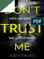 Dont Trust Me