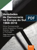 Fernandes - Variedades de Democracia No Sul Da Europa