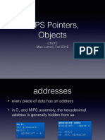 06 - MIPS Pointers _ Objects