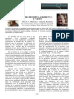 PROTEÍNAS Chaperonas La Revista N 8 Agosto 2012 Prot
