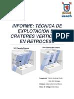 Informe Vcr
