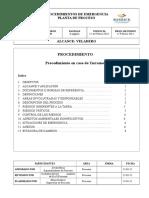 PRO-PVL-402 Procedimiento en Caso de Terremoto