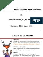 Pelatihan Lifting dan Rigging.pdf