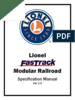 FasTrack Modular Railroad Manual Ver 2