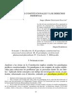 Constitucion Derechos Indigenas Mono Plurinacional Cultural