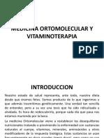 Medicina Ortomolecular y Vitaminoterapia