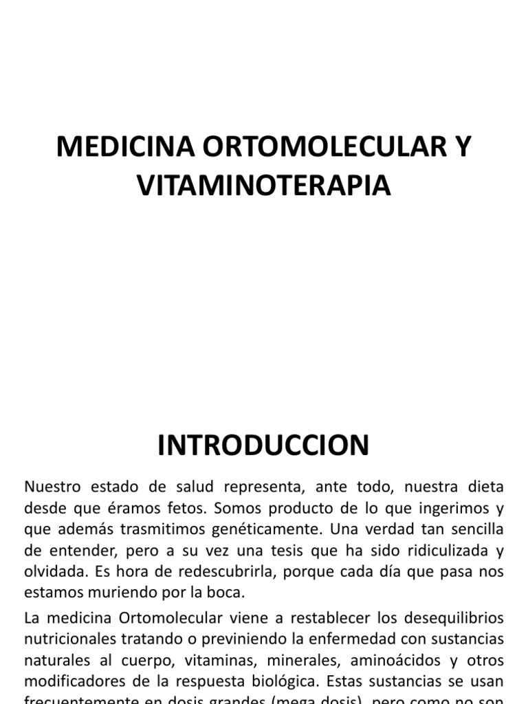 vitaminoterapia in cancer