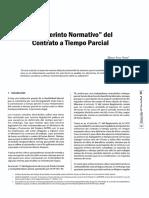 Elmer Arce - El laberinto normativo del contrato a tiempo parcial.pdf