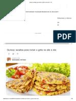 Receita de Quinoa Em Grãos - Tudogostoso