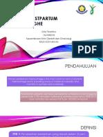 Primary Postpartum Haemorraghe