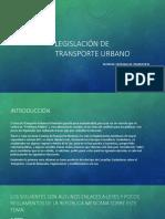 Legislación de Transporte Urbano