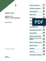 SIMATIC HMI. WinCC V7.2 WinCC_ Communication. Process Communication 1. Allen Bradley - Ethernet IP 2. Mitsubishi Ethernet 3.